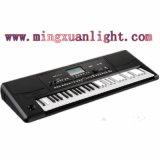 Piano elétrico musical Multi-Functional dos teclados das chaves do plástico 61