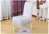 結婚式の宴会党のための椅子カバーを食事する伸張ポリエステルスパンデックス