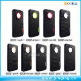 Cassa durevole del telefono della fibra TPU del carbonio per Motorola Moto E4/E4 più
