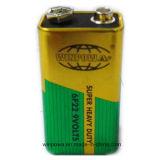 Nine/9 de Batterij van het Chloride van het Zink van de Volt 0%Hg 6f22
