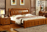 나무로 되는 침실 가구, 침대 옆 테이블, 드레서, 침대 (6013)