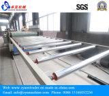 WPC de PVC resistente al agua baño cocina/Línea de producción de Panel de armario