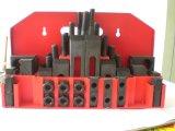 Un acero más de alta calidad de 58 PCS Deluexe que embrida kits