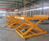 Heavy Duty cargo elevator dock elevator with Scissor Design