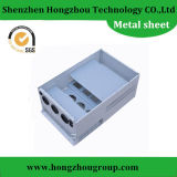 Diversas peças de chapa metálica de tratamento de superfície para acessórios de máquinas
