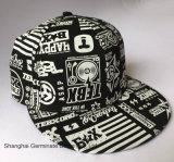 Chapéu máximo liso com a cópia de tela com Snapback (LY118)