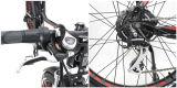 2017 новый дизайн жир снег электрический велосипед с Bafang задний электродвигатель, 1000W доступен