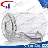 290ml 새로운 모양 손 (CHM8343)를 가진 유리제 물 컵