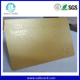 Heiße persönlich gedruckte Plastikkarten mit Gold