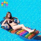 Galleggianti di galleggiamento di vendita caldi delle stuoie della spiaggia della base del salotto del sofà del giocattolo dell'aria dell'acqua pieghevole gonfiabile del PVC