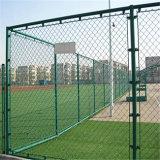 Оптовая загородка ячеистой сети сетки звена цепи/гальванизировала/используемая ячеистая сеть PVC
