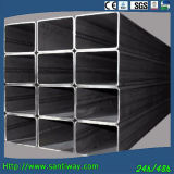Quadratisches Stahlgefäß
