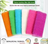 2016 Nature couleur solides organiques 100% bambou épais de serviettes de cuisine de qualité supérieure/verre Serviette Serviette de bain/voiture df-N137