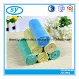 Мешки изготовленный на заказ печатание цвета ясности отброса HDPE пластичные плоские