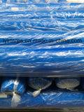 Roulis de bâche de protection de PE, roulis en plastique orange de bâche de protection