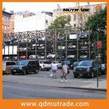 Ascenseur automatique de stationnement de case de véhicule de Mutil-Niveau de 4 postes