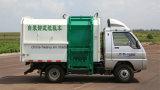 Camion dell'elevatore idraulico dei 5 tester cubici piccolo/mini di immondizia del collettore