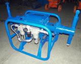 Kleber-Mörtel, der die Pumpe überzieht Pumpen-Maschine vergipst