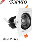 Lifud 10W/15W/20W Downlight LED CREE COB White Silver