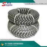 다이아몬드 철사는 절단 강화된 콘크리트, 대리석 및 화강암 채석장을%s 보았다