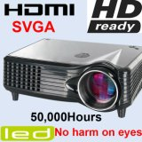 Projetor video barato do diodo emissor de luz da promoção HDMI