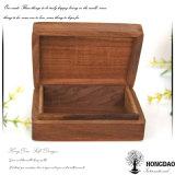 Коробка Hongdao изготовленный на заказ деревянная Playcard с металлопластинчатым логосом Wholesale_D