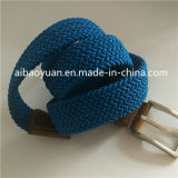 Main confortable sensation de couleur bleue de la courroie élastique, refoulées Boucle de ceinture