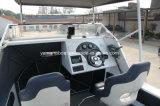 barco del aluminio de los 5.8m con la tapa dura