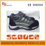 Sapatas de segurança compostas resistentes químicas do esporte do tampão do dedo do pé