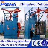 El doble de tipo gancho de una sola máquina de granallado para Derusting