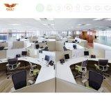 Poste de travail droit de bureau, grand bureau avec la partition de bureau