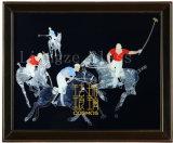A decoração do escritório de negócios do Artesanato Pintura de esmalte de vidro temperado