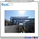 Finestra di alluminio di alluminio della parete divisoria di profilo di architettura e rete fissa di alluminio Shlef della griglia di profilo del sistema del portello e decorazione del soffitto