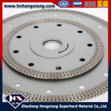 Gesinterter Turbo Diamond Saw Blade für Title Granite Marble Cutting