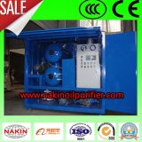 Filtragem de óleo a vácuo máquina de reciclagem de óleo de transformador
