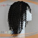 Дешевые цены выходцев из вьющихся волос человека полностью кружевной Wig (PPG-l-0332)