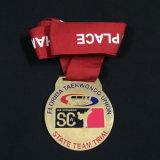 Medallas directas de la universidad de la aduana 3D de la fábrica