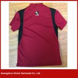 La coupure de T-shirt de sports et cousent les T-shirts de polyester de T-shirts (P139)