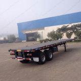 직업적인 반 공급 30ton 20feet 평상형 트레일러 콘테이너 트레일러