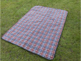 Bedingungs-in der faltbaren Picknick-Matte beenden