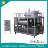 Olio per motori residuo usato che ricicla alla macchina diesel