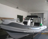 Liya 17FT/5.2m Semi-Rigid Hull Opblaasbare Boot van China voor Verkoop