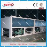 Grande refrigeratore di acqua raffreddato aria industriale della vite
