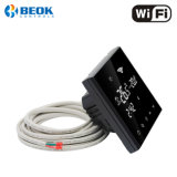 Termostato ambiente calefacción eléctrica con la gran pantalla táctil WiFi inteligente el termostato