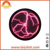 Luz atrativa da esfera da placa do trovão do plasma da cor cor-de-rosa elétrica por atacado
