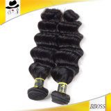黒人女性のために編む等級7Aのブラジルの毛