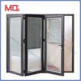 Portello di piegatura di alluminio di buon di prezzi disegno del Ghana con vetro
