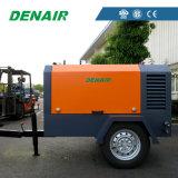 Denairサンドブラストの造船所に使用するディーゼル力の空気圧縮機