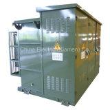 630kVA stootkussen-Opgezette Transformator (Amerikaanse die Stijl) in het Systeem van de Distributie wordt gebruikt