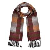 Кашемир 180*65cm женщин реверзибельный как шарф шали зимы теплый связанный сплетенный (SP254)